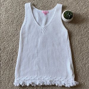 Lilly Pulitzer Women's Sweater Tank Top